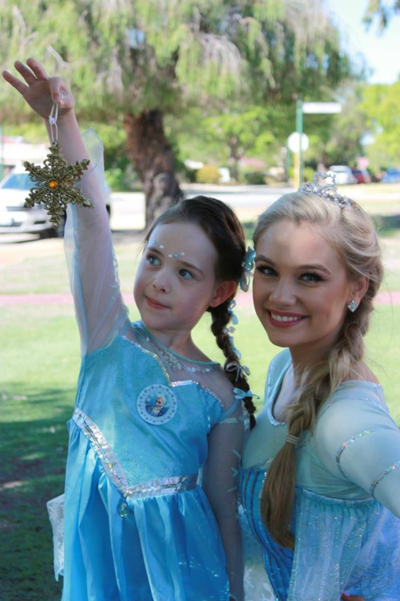 frozen princess party perth