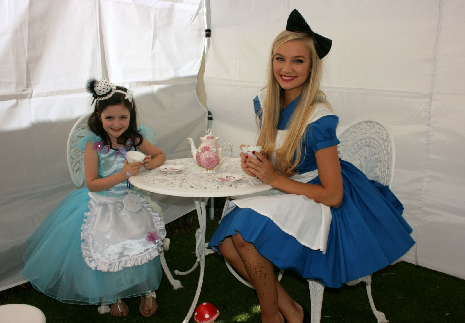 Alice in Wonderland Tea party perth, tea party perth wa, tea party venue perth, alice in wonderland decorations
