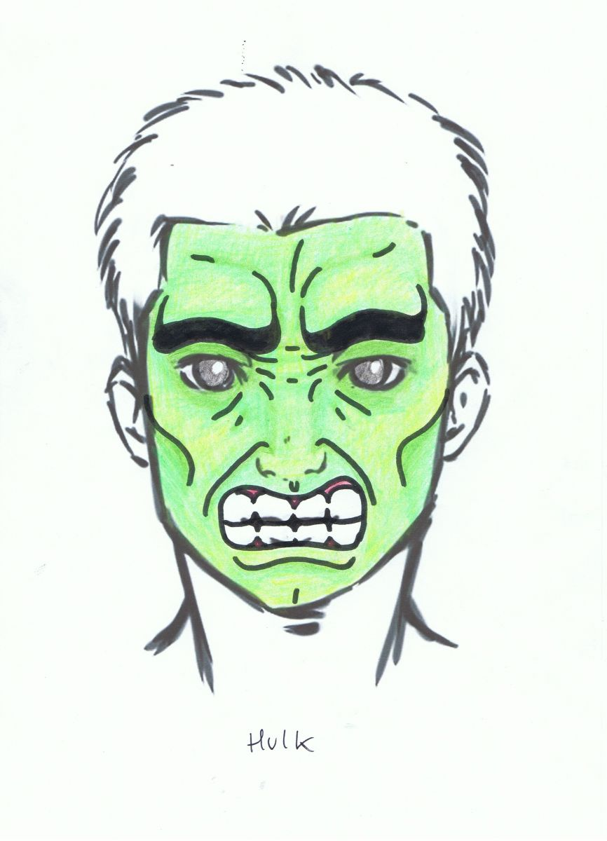 Easy Hulk Face Painting Images amp Pictures Becuo
