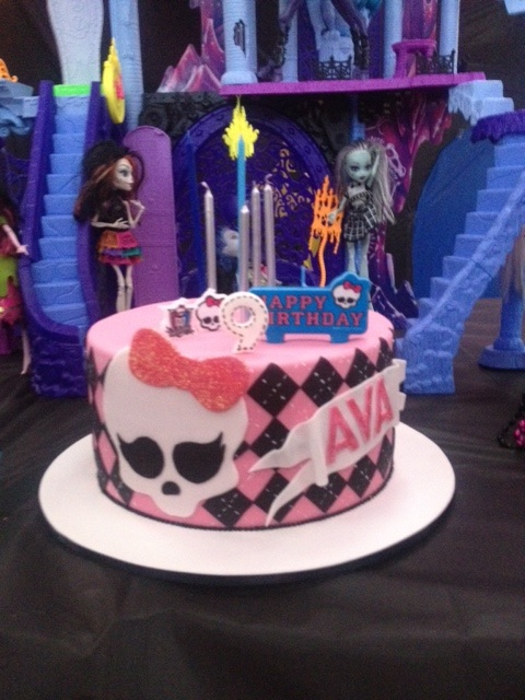 Monster High Cake Design, Monster Cake ideas