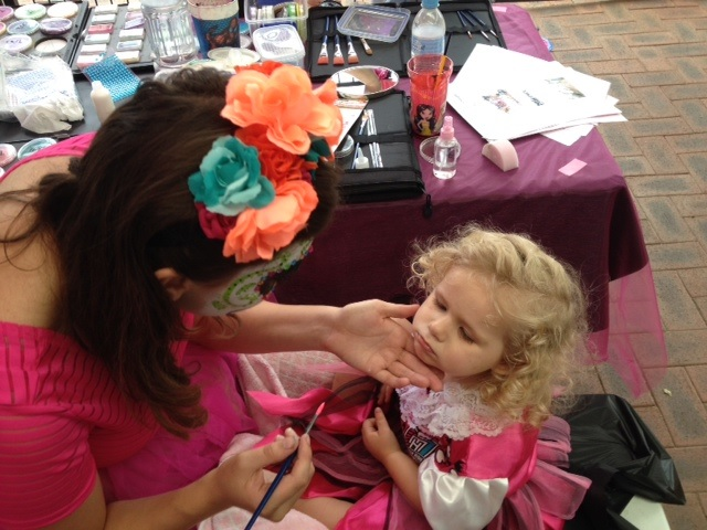 Monster High Face Painting, Face Painting Perth, Facepainting Perth,