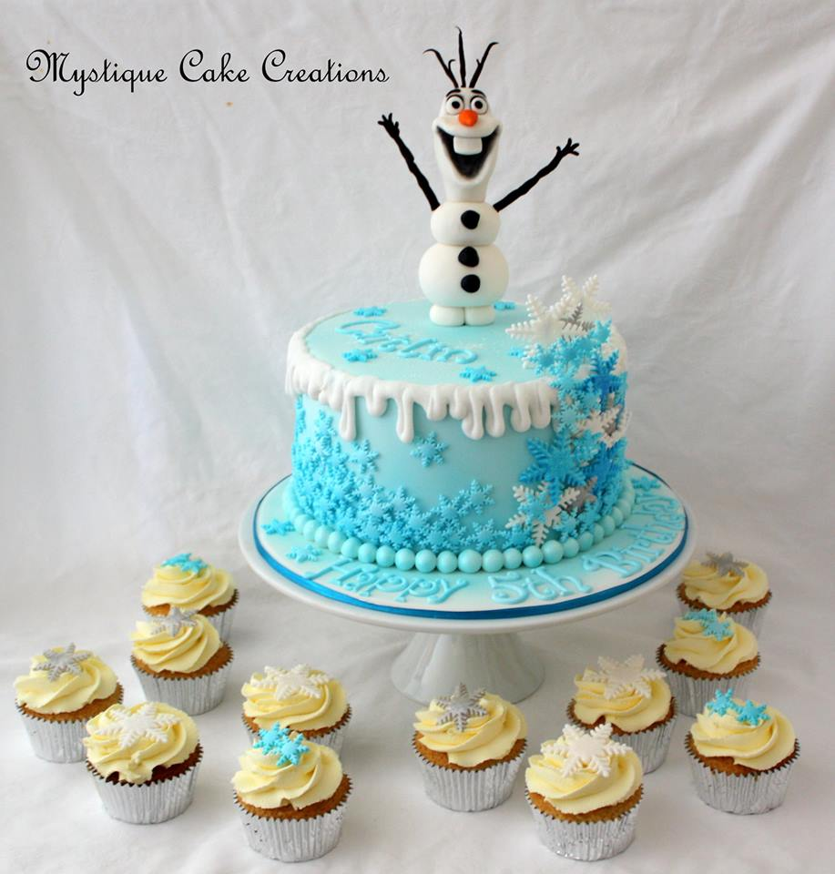 Wondrous Frozen Character Birthday Cake Encore Kids Parties Birthday Cards Printable Trancafe Filternl