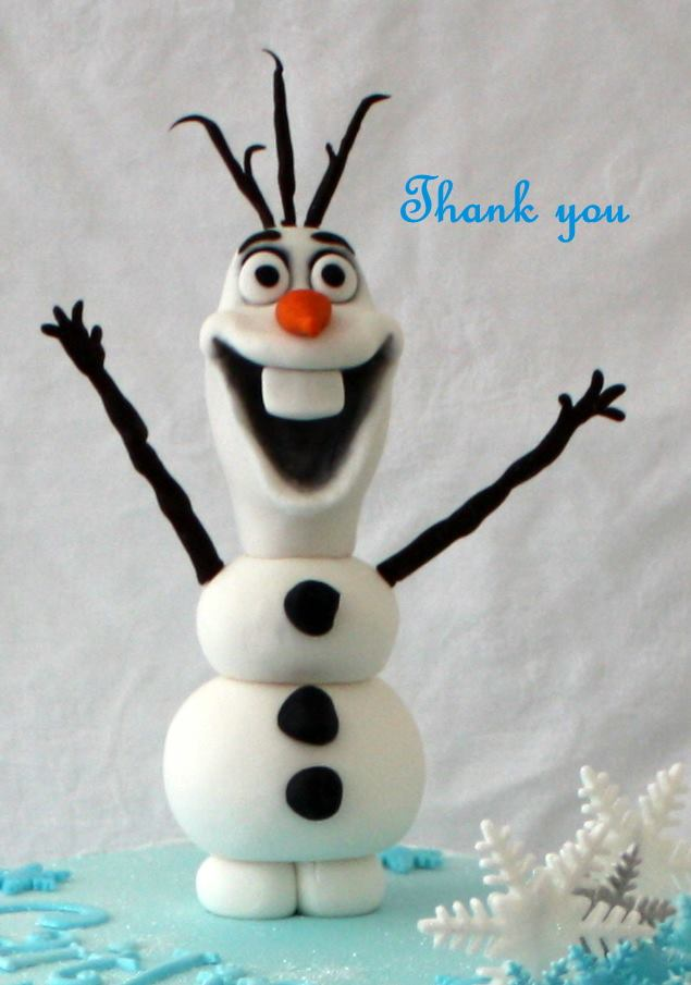 mystique cake creations perth, cake decorator perth, frozen birthday cake, olaf frozen birthday cake, cake delivery perth,