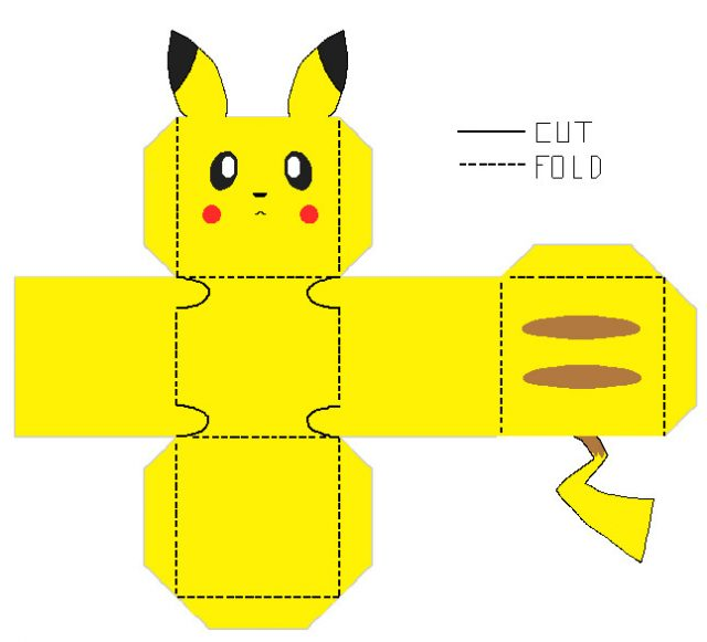 Pokemon Go Paper Craft free download