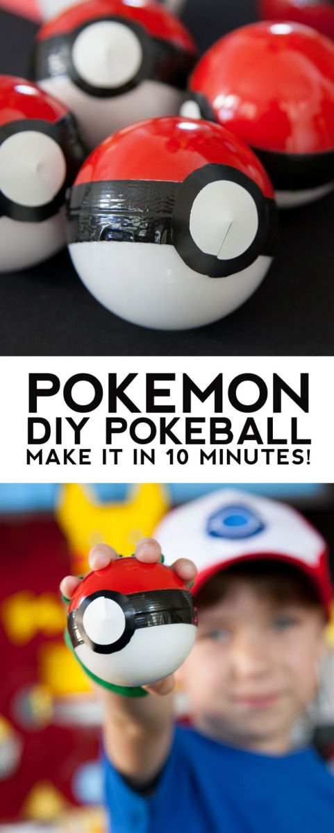 pokemon go party favors, pokemongo party ideas, pokemongo