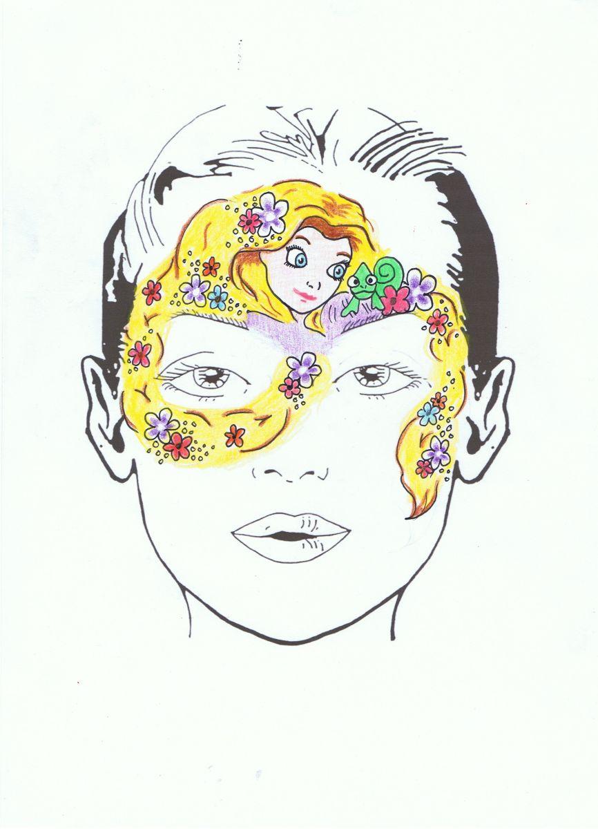 princess face painting designs encore kids parties