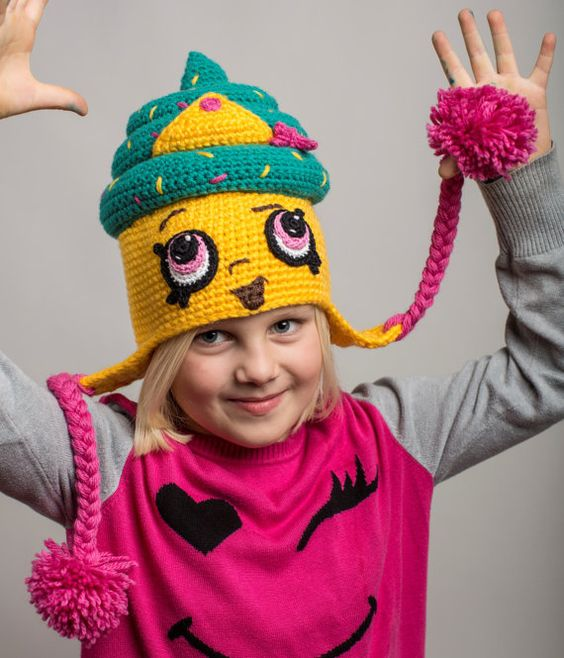 Shopkins Cupcake Queen Crochet Hat Pattern  22a84801861