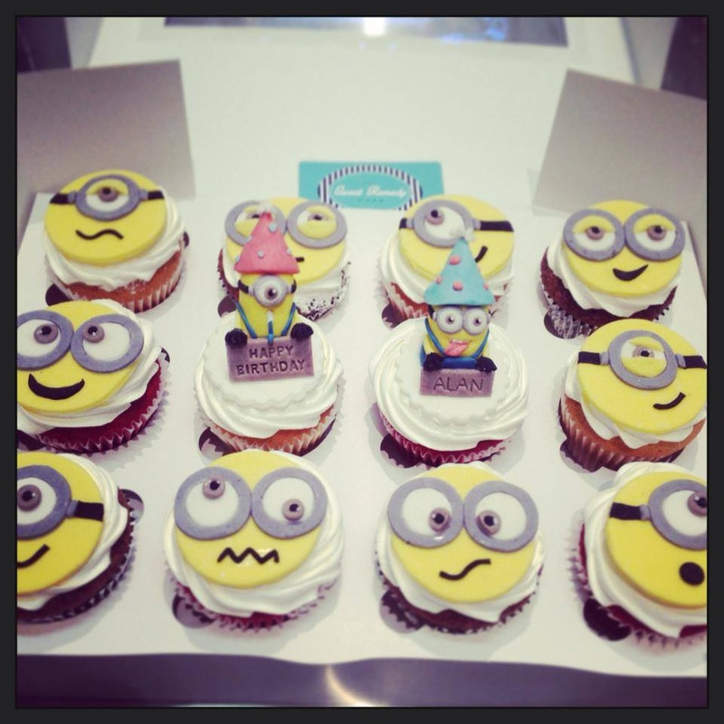 Sweet Remedy Cafe, Minion Cupcakes