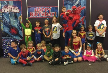 The Carine perth, spiderman and superhero party perth kids, party ideas for boys perth, encore kids parties