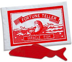 Fortune teller fish, older kids party favour, party favour, tween idea