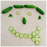 cucumber face game, sleepover party games, teen games, kids party perth