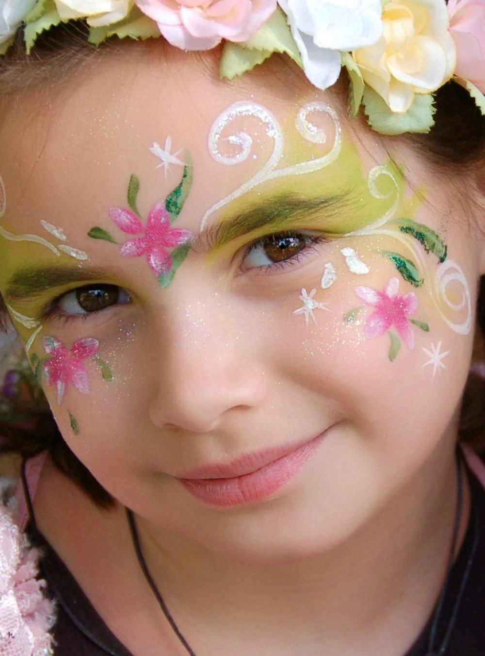 Fairy party perth face painting encore kids parties for Face painting for parties