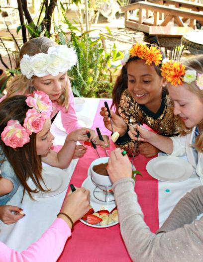 image for High Tea Parties at the Secret Garden