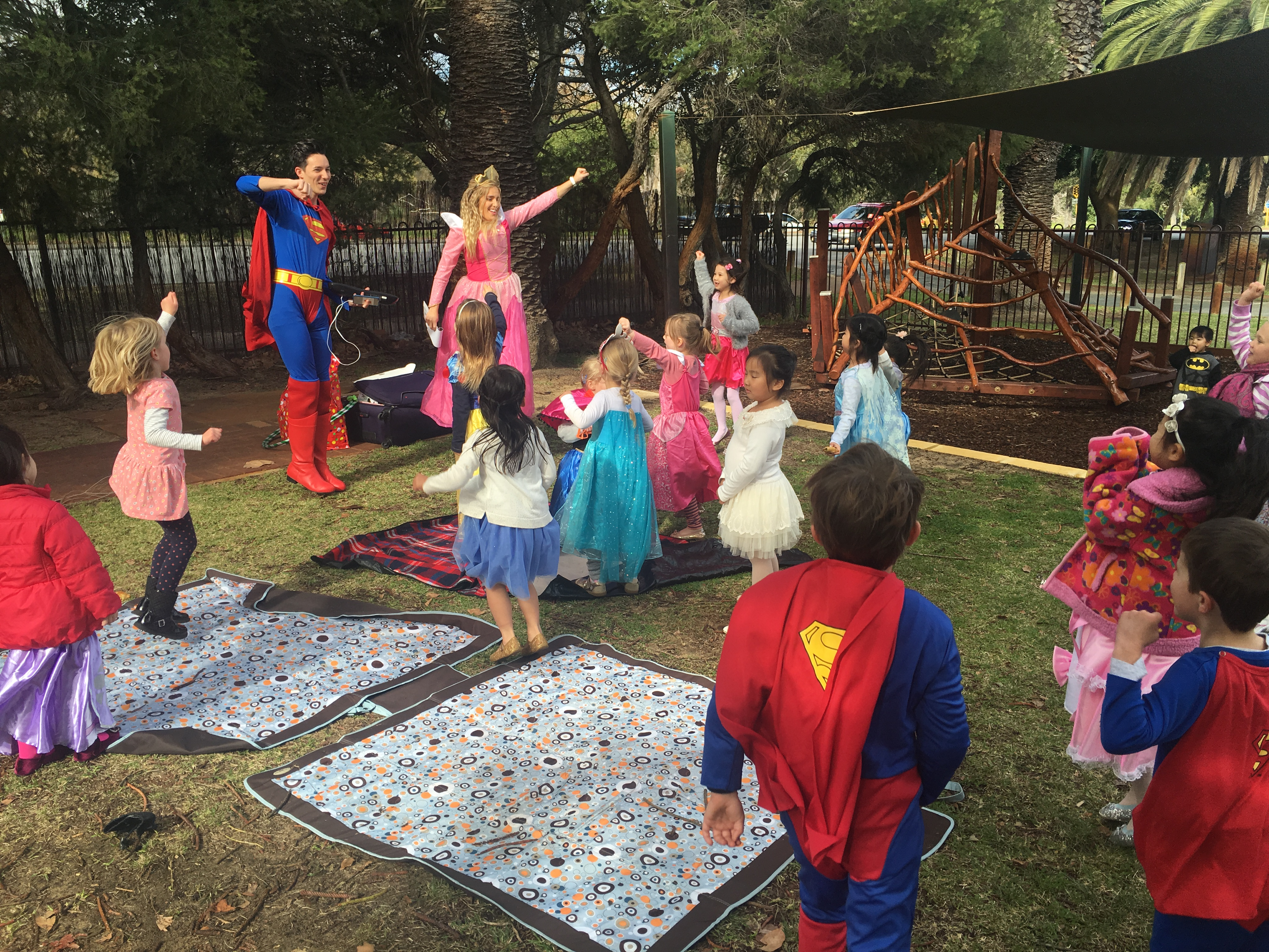 superhero  u0026 princess party entertainers perth