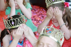 Treasure Hunt, Vintage Tea Party, Princess Crown, Princess Party Perth