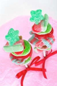 candy kebob red ribbon, candy craft activity, cookies and candy party